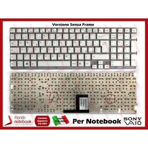 Tastiera Notebook Sony VPC-EC (BIANCA) (SENZA FRAME)