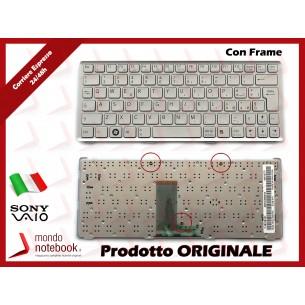Tastiera Notebook Sony VPC-W217 (SILVER) (CON FRAME)