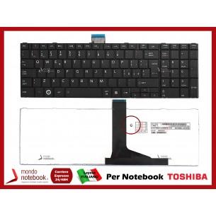 Tastiera Notebook TOSHIBA Satellite C850 C855 L850 L855 P850 P855 (NERA) SENZA FRAME