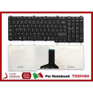 Tastiera Notebook TOSHIBA Satellite P300 P305 A500 L500 L350 L355 (NERA OPACA)