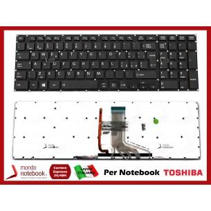 Tastiera Notebook TOSHIBA Satellite P50 P70-A Qosmio X70-A X75-A Retroilluminata NO Frame