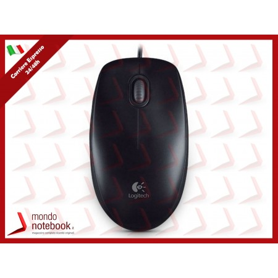 """MOUSE LOGITECH """"B100 Mouse Black USB"""" 3 tasti 800dpi oem"""