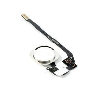 Tasto Home Apple Iphone 5S SE completo di Flat Flex (Bianco)