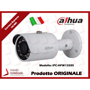 Telecamera IP Dahua per Interno / Esterno Impermeabile 3Mpx 3.6mm PoE Serie Lite V2...