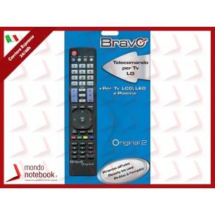 """TELECOMANDO BRAVO """"COMPATIBILE PER TV LG"""" - NON NECESSITA DI PROGRAMMAZIONE"""