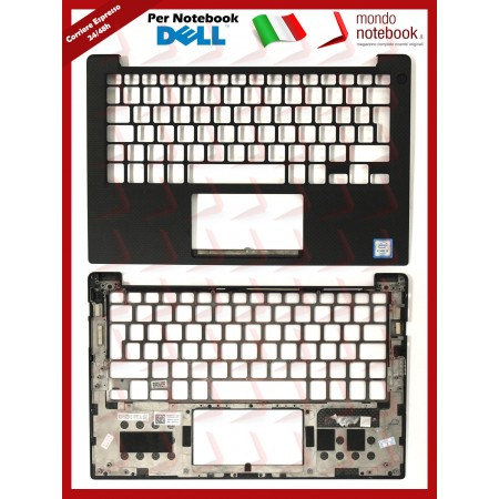 Top Case Scocca Superiore DELL XPS 13 9350 9360 9343 (Nera) - DJ64X