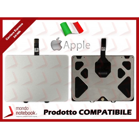 """Trackpad Touchpad Apple per Macbook Pro 13"""" A1278 (2009-2012) (Silver)"""