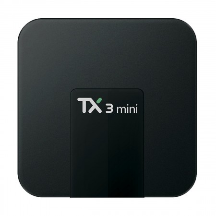 TV Box TX3 mini (2GB RAM, 16GB eMMC, 4x1.5GHz, Android 7.1 Nougat)