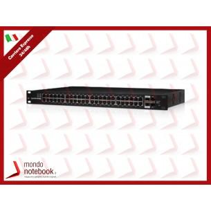 UBIQUITI EdgeSwitch, 48 porte Ggigabit, Lite, Non-POE 2P SFP+ 2P SFP - ES-48-LITE