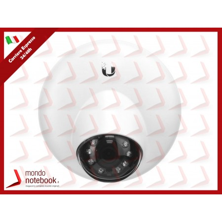 "UBIQUITI UniFi Video Camera, IR, G3, DOME Sensore 1/3"" 4 Megapixel con HDR, Microfono..."