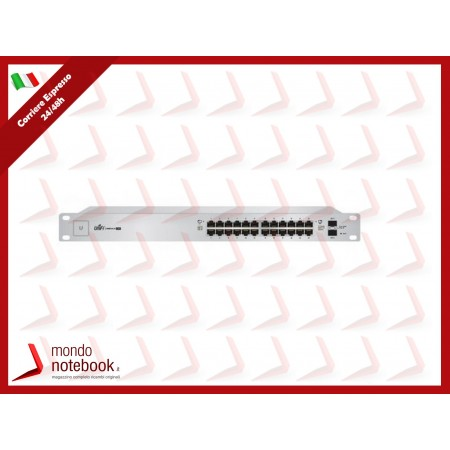 UniFI UBIQUITI Switch 24 porte, 2XSFP, 500Watt - US-24-500W