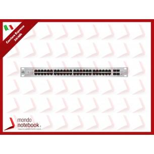 UniFI UBIQUITI SWITCH 48 PORTE LAN GIGABIT PoE, 2P SFP, 2P SFP+, 750W - US-48-750W