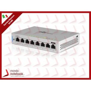 UniFi UBIQUITI Switch 8 porte LAN GIGABIT, US-8-alimentabile in PoE e con funzionalità...