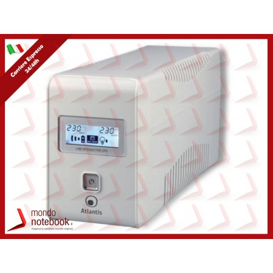 UPS ATLANTIS A03-HP701 700VA (360W) Sinewave Line Interactive Technology, Dysplay LCD e...