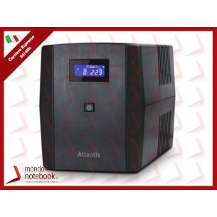 UPS ATLANTIS A03-S1200 Server UPS 1200VA (700W)Stepwave Line Interactive Doppia...