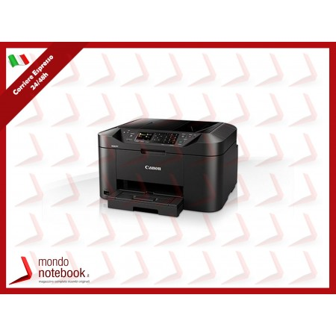 MULTIFUNZIONE CANON Maxify MB2150 A4 4INK 19/13IPM 250FF LCD FAX DUPLEX ADF 50FF WiFi...