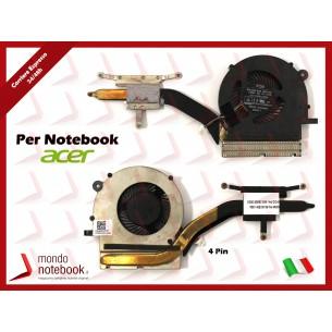Ventola Fan CPU ACER Extensa 2530 Aspire ES1-571 MM1-571