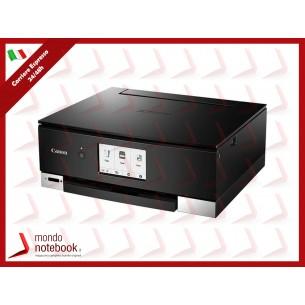 MULTIFUNZIONE CANON PIXMA TS8350 BK A4 6ink 15/10 ipm F/R USB WiFi USB2.0 Google Cloud...