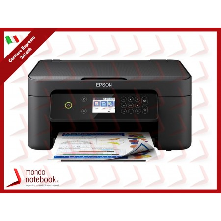 MULTIFUNZIONE EPSON Expression Home XP-4100 A4 4INK 33/15 PPM 100FF DISPLAY LCD...