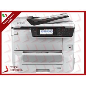 MULTIFUNZIONE EPSON WorkForce Pro WF-C8610DWF A3 35/35PPM 335FF FAX DUPLEX ADF LAN WiFi...