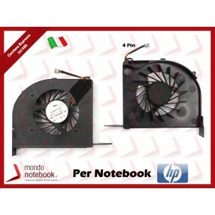 Ventola Fan CPU HP DV6-2000 DV6-2100 (Modello INTEL) Versione 1
