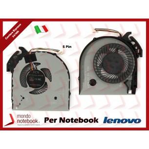 Ventola Fan CPU Lenovo IdeaPad V110-15 V110-15ISK (5 Pin)
