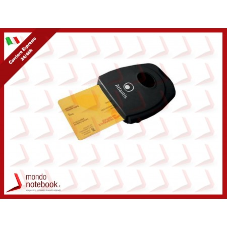 LETTORE ATLANTIS P005-SMARTCR-U USB DI SMART CARD x HomeBanking/Firma digitale