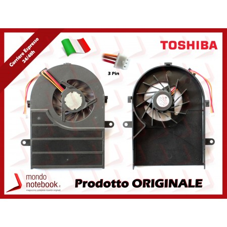 Ventola Fan CPU TOSHIBA Satellite A100 A105 Tecra A7