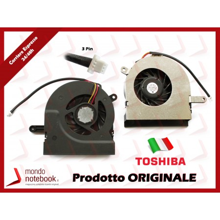 Ventola Fan CPU TOSHIBA Satellite A200 A202 A203 A205 A210 A215 Series (per AMD)