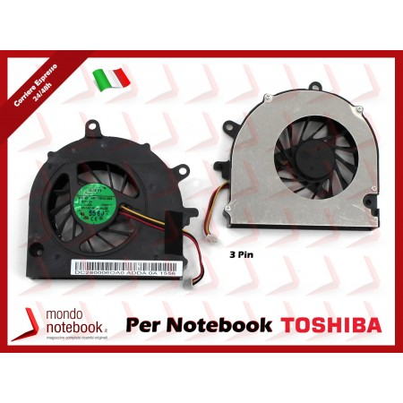 Ventola Fan CPU TOSHIBA Satellite A500 A505 (Versione 1)