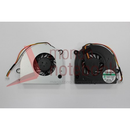 "Ventola Fan CPU TOSHIBA Satellite L500 L505 L555 L550D Series (15.6"")"