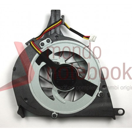 Ventola Fan CPU TOSHIBA Satellite L650 L650D L655 L655D L750 L755 (Versione 3)