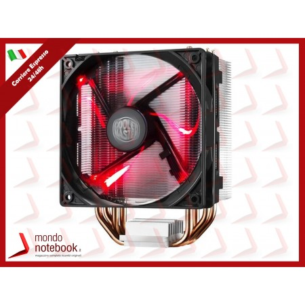 VENTOLA x CPU COOLER MASTER RR-212L-16PR-R1 Hyper212LED Intel LGA 775-2011-3 AMD...