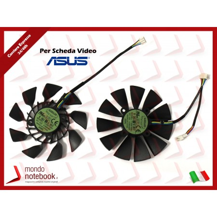 Ventole Dual Fan Scheda Video ASUS GeForce GTX780 GTX780TI Radeon R9 280X 290X