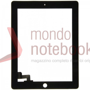 Vetro Touch Screen APPLE iPad 2 (NERO) Black touchscreen