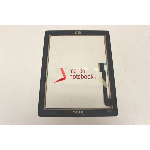 Vetro Touch Screen APPLE iPad 3 (NERO) Black touchscreen + tasto HOME