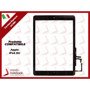 Vetro Touch Screen APPLE iPad Air A1474 A1475 A1476 (Nero)