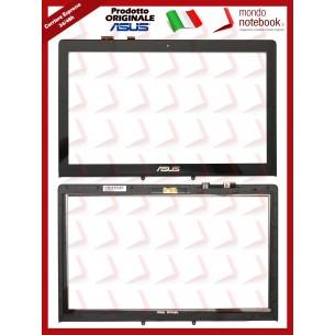 Vetro Touch Screen con Cornice LCD ASUS Vivobook N550J N550JK N550JX N550L
