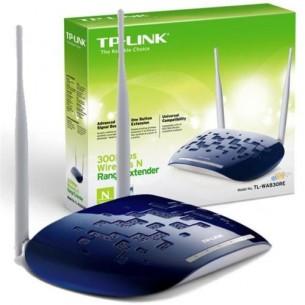 WIFI RANGE EXTENDER UNIVERSALE WIRELESS TP-LINK TL-WA830RE 300M COMPATIBILE CON...