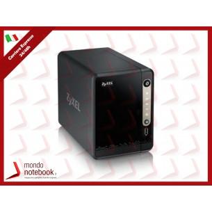 NAS ZYXEL NAS-326 senza dischi supporta 2 HD SATA, 1P LAN Gigabit, 2P USB 3.0, 1P USB,...