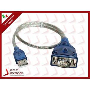 ADATTATORE ATLANTIS P006-U1SP-9M-TBL USB - SERIALE 9 PIN MASCHIO