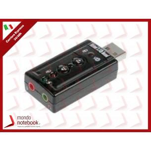 ADATTATORE LINK USB-AUDIO per MICROFONO, CASSE o CUFFIE, consente  di connettere...