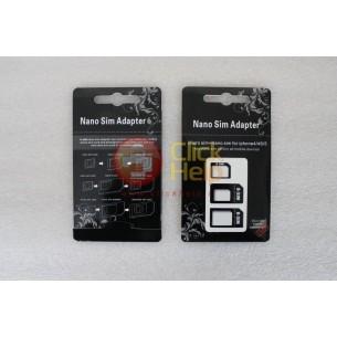 Adattatore NANO/MICRO-SIM per Smartphone e Tablet