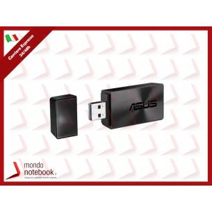 ADATTATORE WIRELESS ASUS USB-AC54B USB 3.0 WiFi AC1300 Dual Band  867+400Mbps con...