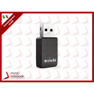ADATTATORE WIRELESS TENDA U9 AC650 DUAL BAND USB 802.11n/g/b/a/ac, 1 ANTENNA INT