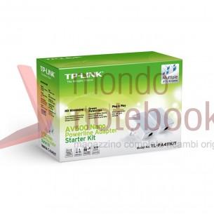 ADATTATORI POWERLINE TP-LINK TL-PA411KIT V2.0 - Starter Kit CONF. 2 PZ CPL AV500
