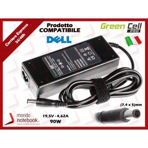 Alimentatore Compatibile per DELL 90W 19,5V 4,62A (7,4mm x 5mm)