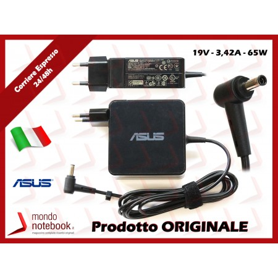 Alimentatore Originale ASUS 65W 19V 3,42A (4.5mm x 3.0mm) con Spina Integrata