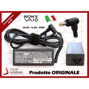 Alimentatore Originale SONY 45W 10,5V 4,3A (4.8mm X 1.7mm) 3P