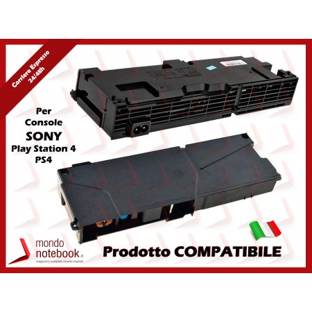 Alimentatore Power Supply per Console SONY Play Station 4 PS4 CUH-1115A - 4 Pin